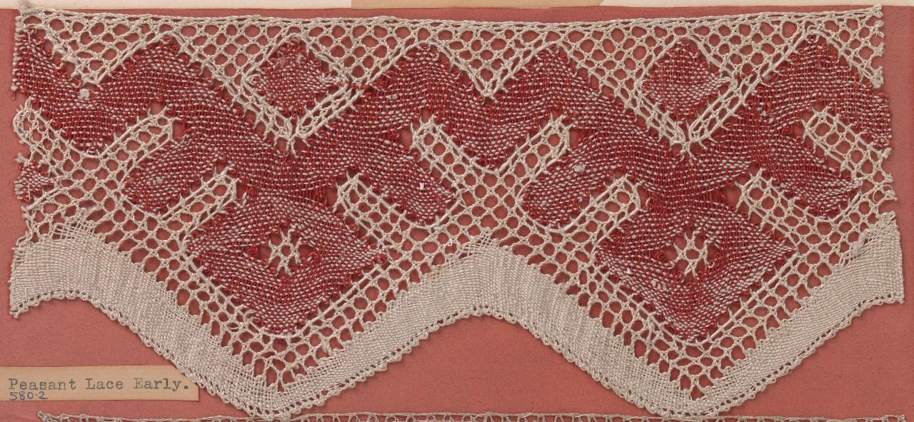 Russian peasant lace