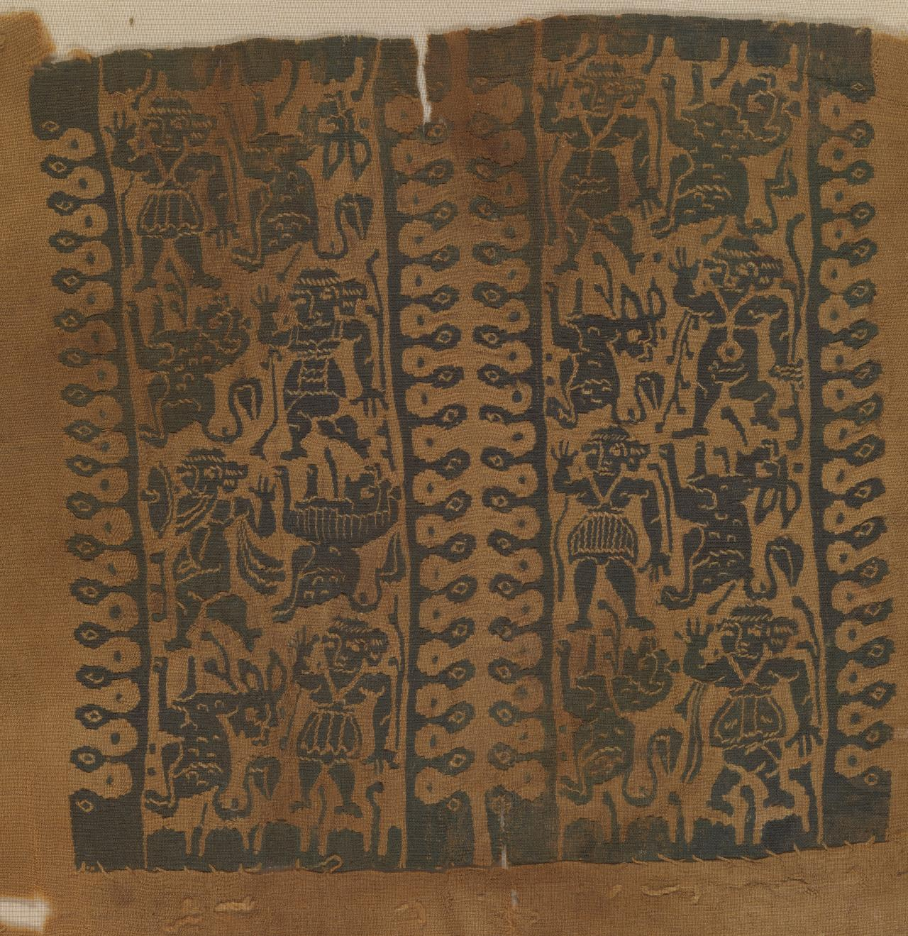 Tunic sleeve fragment with decorated insert
