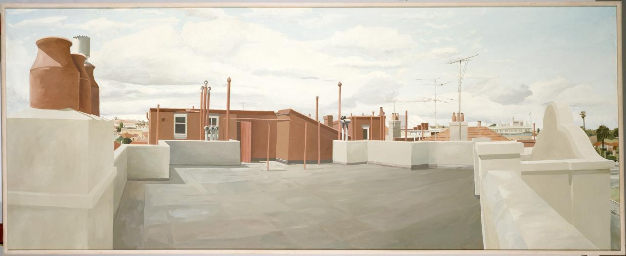 Acland Street rooftops
