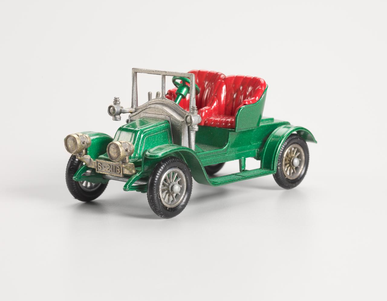1911 Renault two-seater Y2-2, Matchbox car