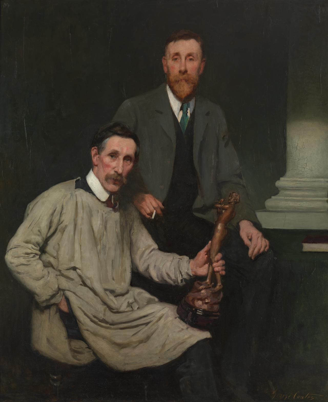 Arthur Walker and his brother Harold (The Walker Brothers)