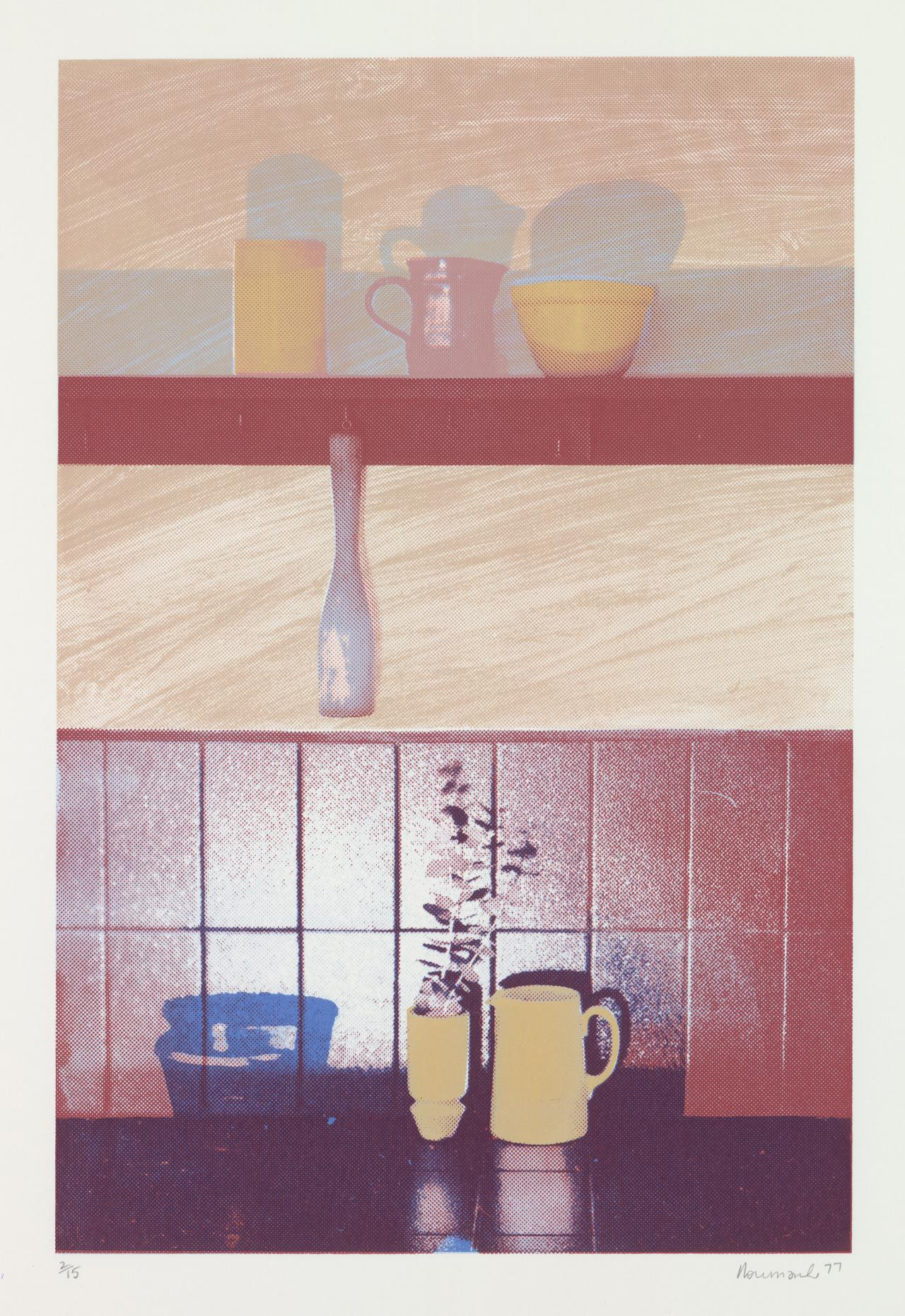 Untitled (Still life - Yellow jug)