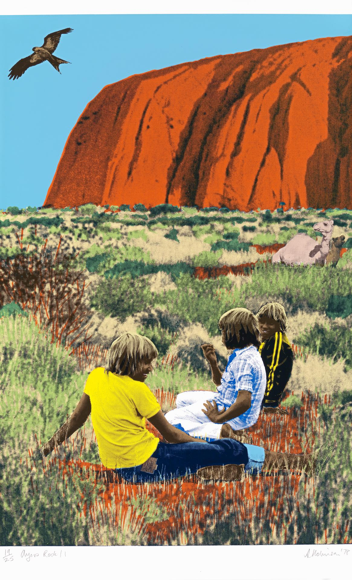 Ayers Rock 1, 2, 3