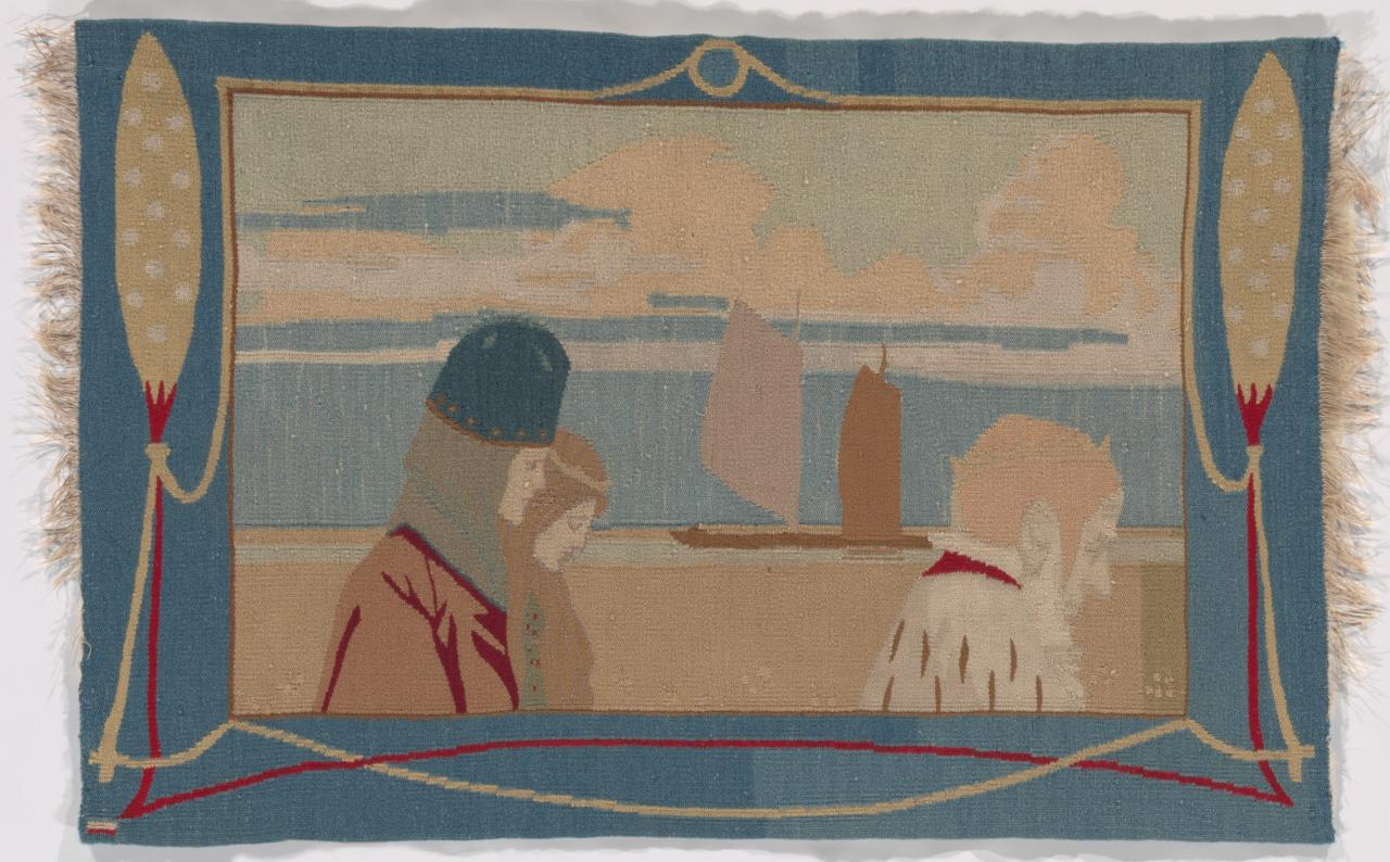 The walk, tapestry