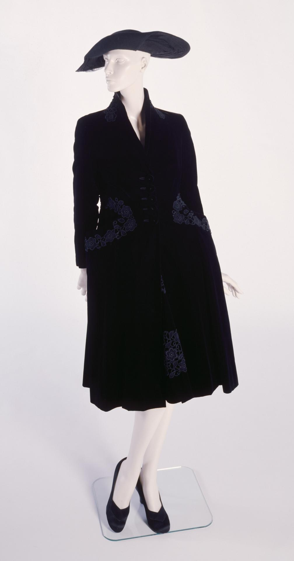 Evening coat and dress