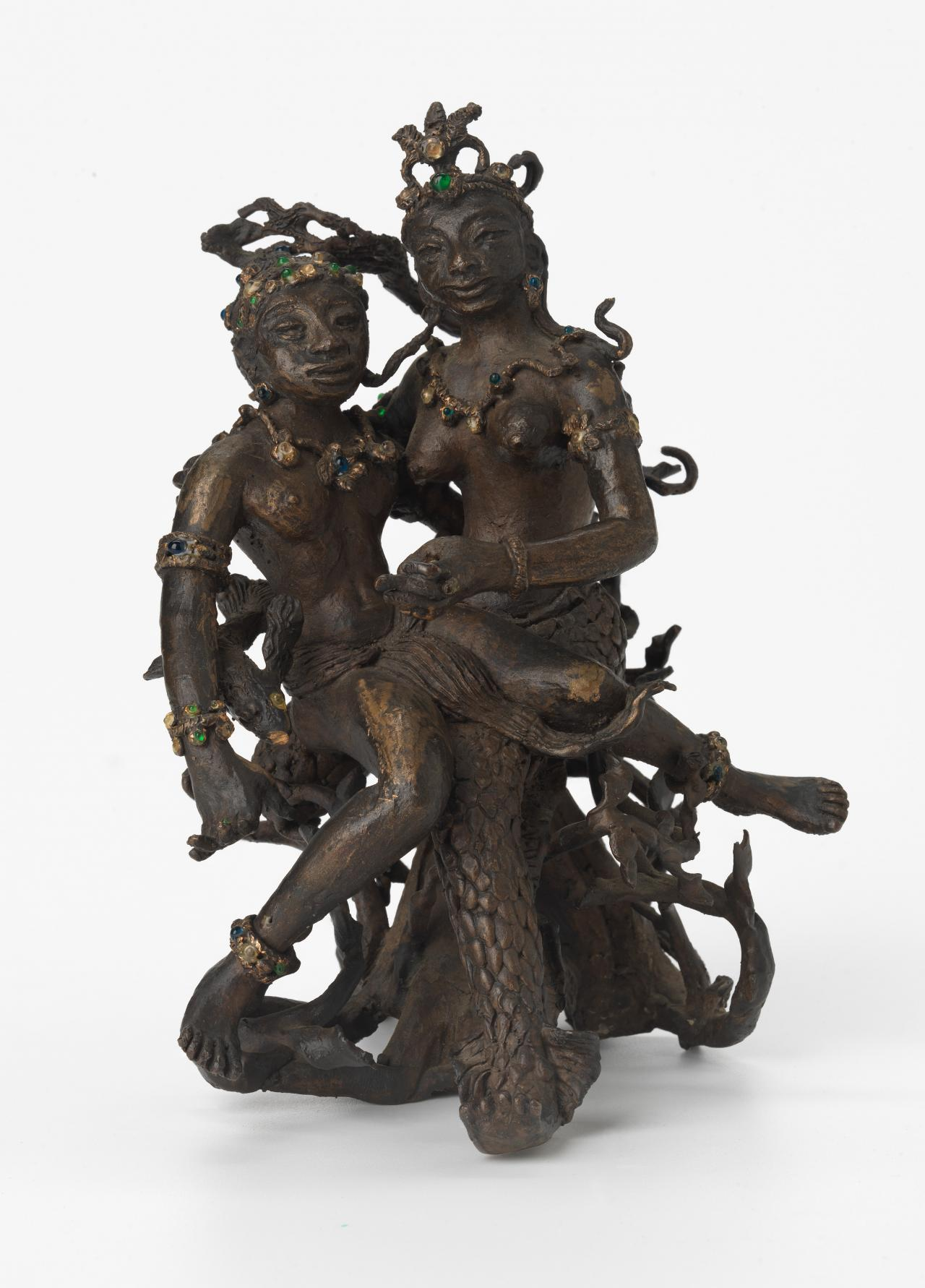 Sea goddess with young king