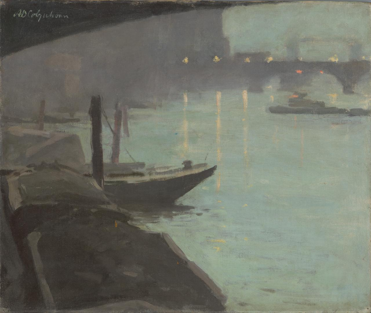 Thames, evening