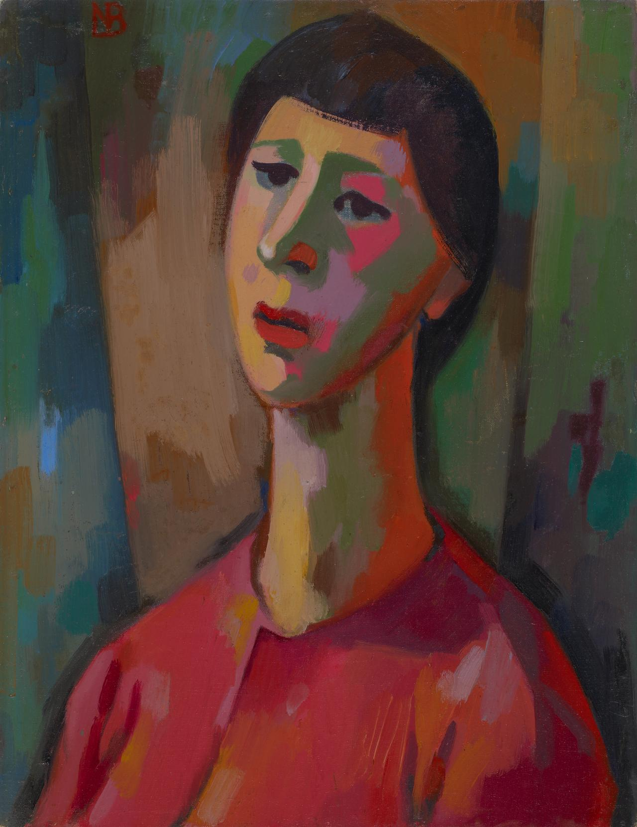 Woman (Self-portrait)