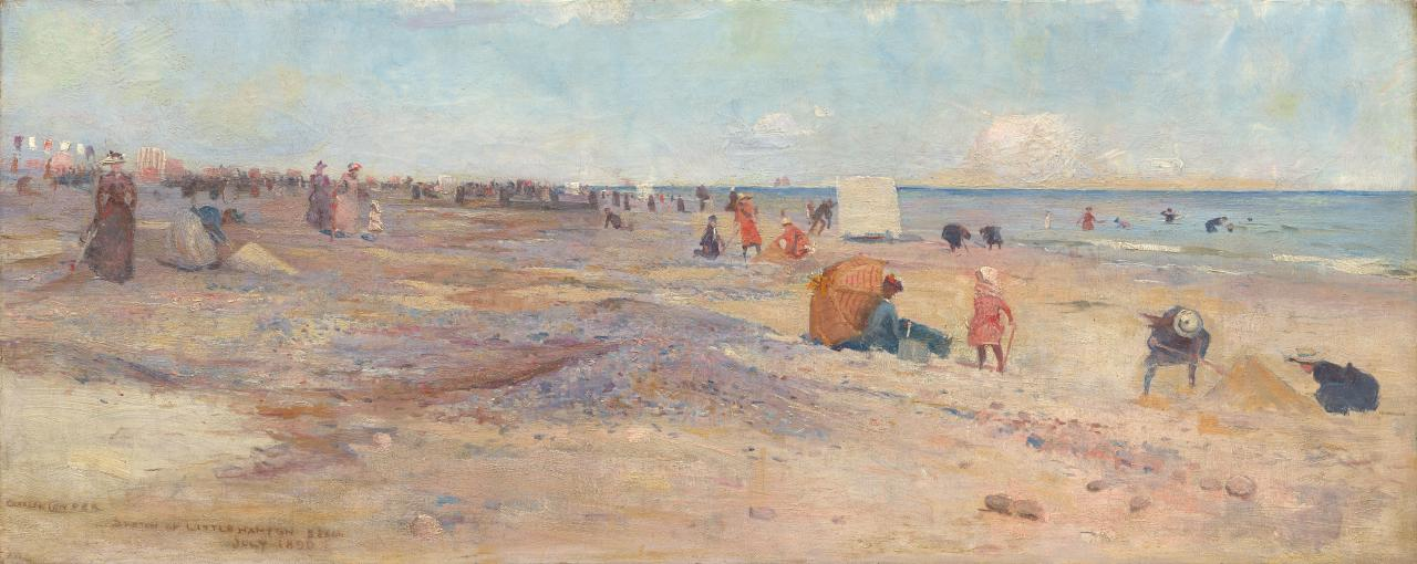 Sketch of Littlehampton Beach