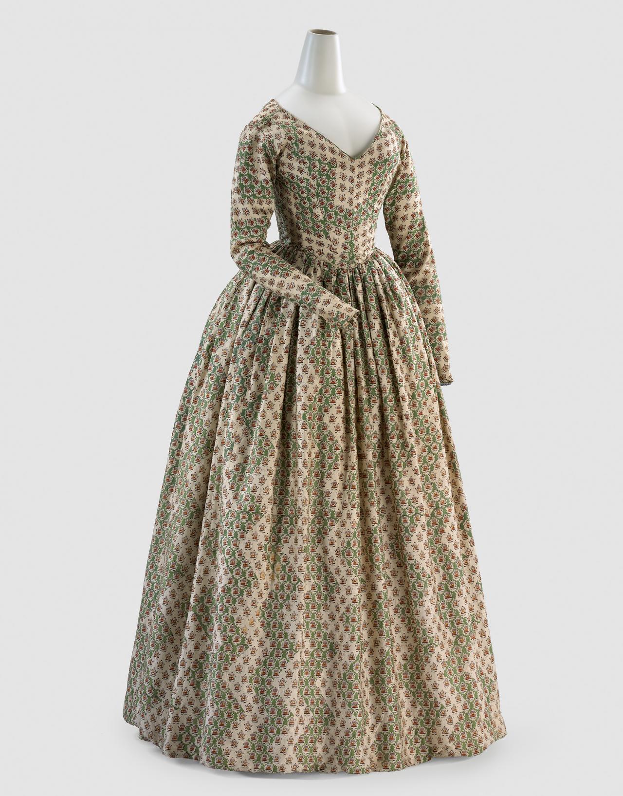 585d2a0bd Print Dress, circa 1840 (National Gallery of Victoria)
