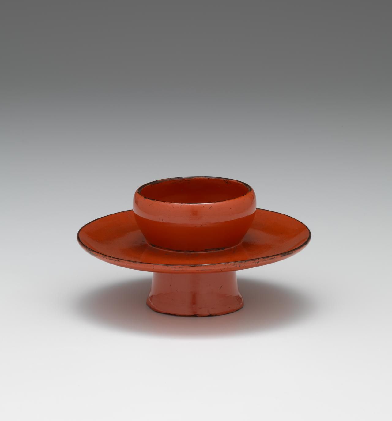 Tenmoku tea bowl stand