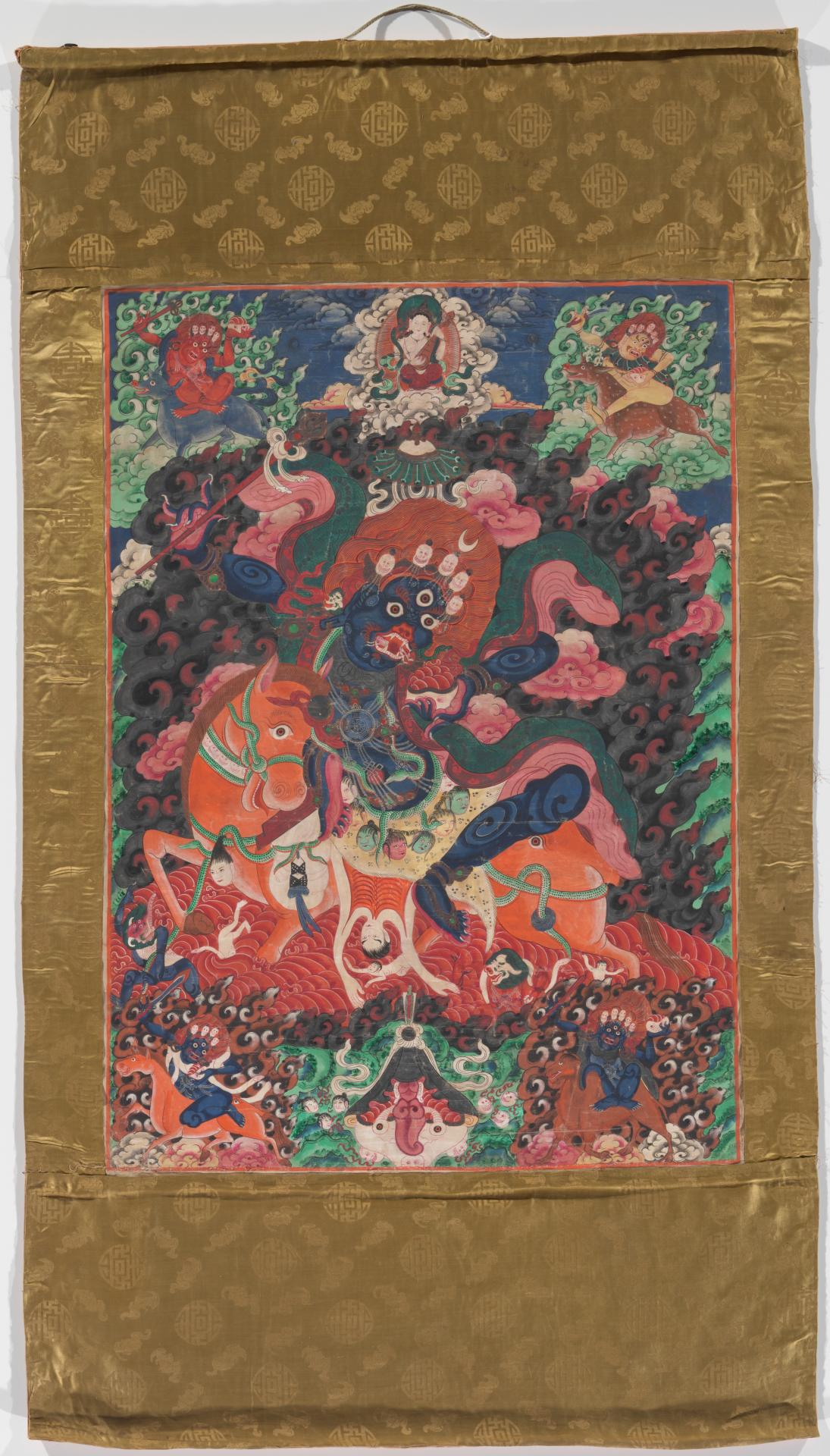The goddess Lhamo Palden