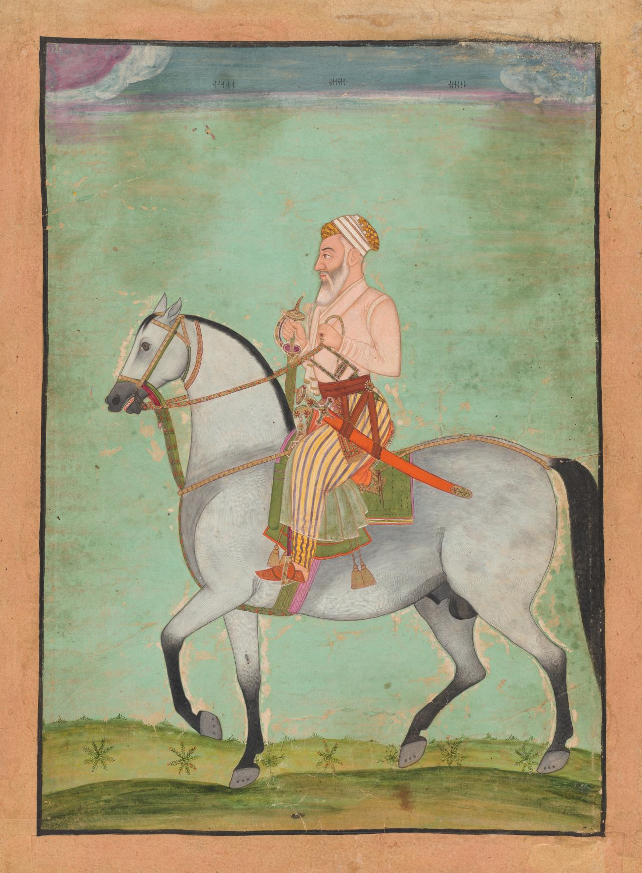 The Emperor Aurangzeb on horseback