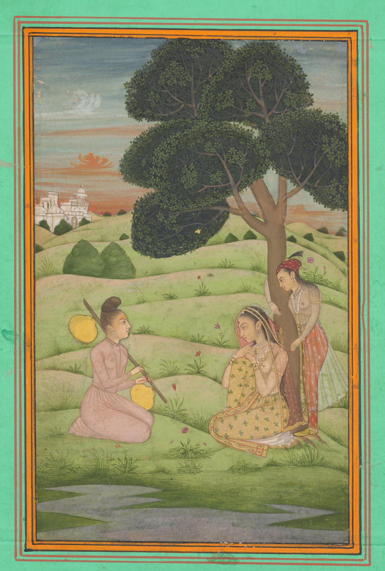 A lady and yogini