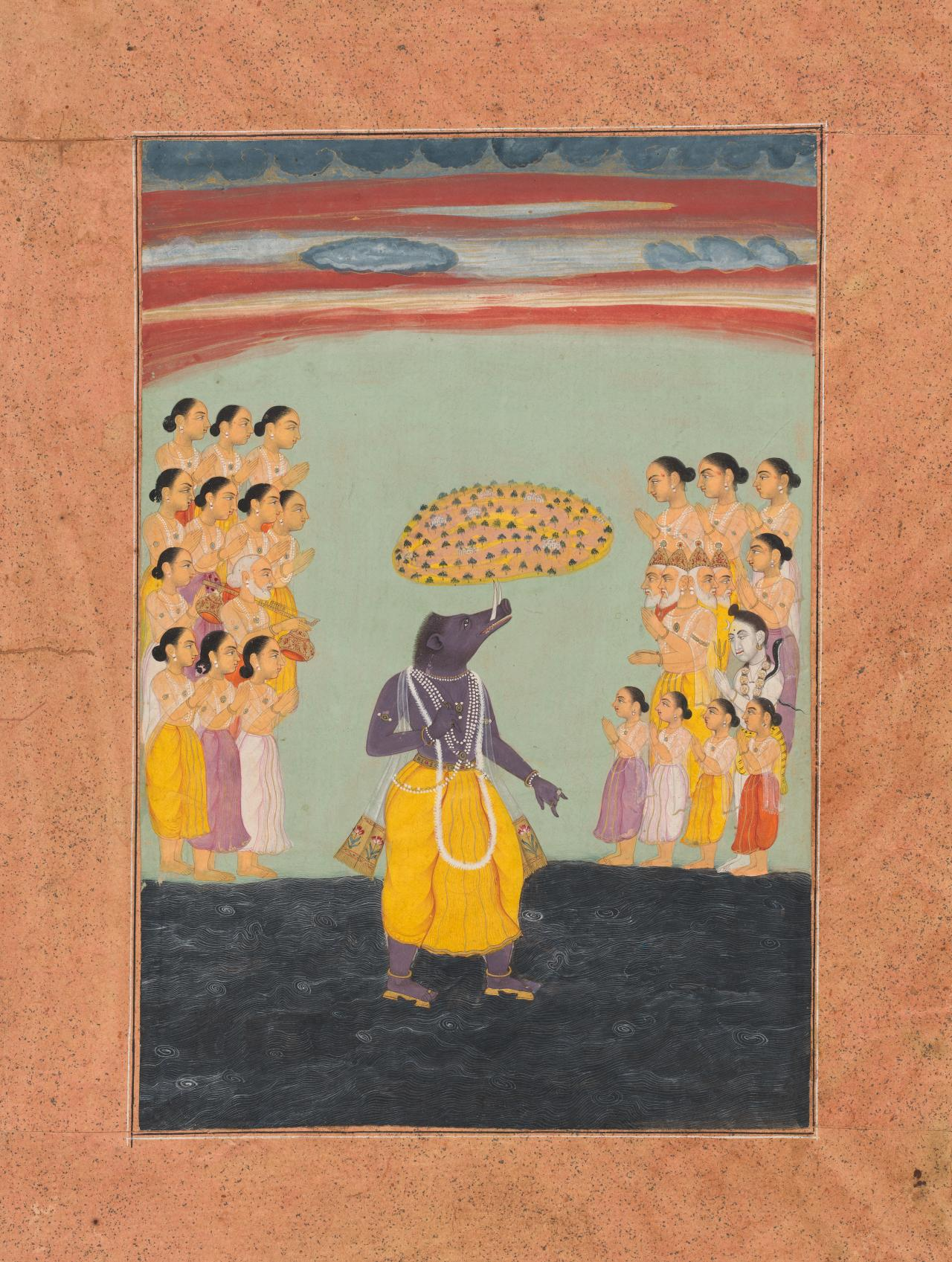 Varaha Avatar (Boar incarnation of Vishnu)