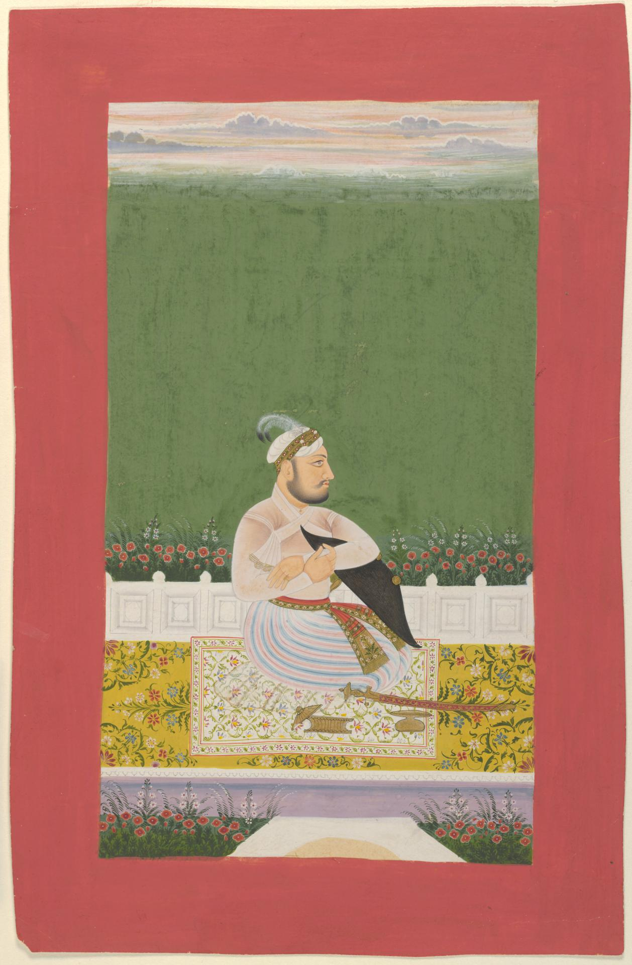 A Mughal officer