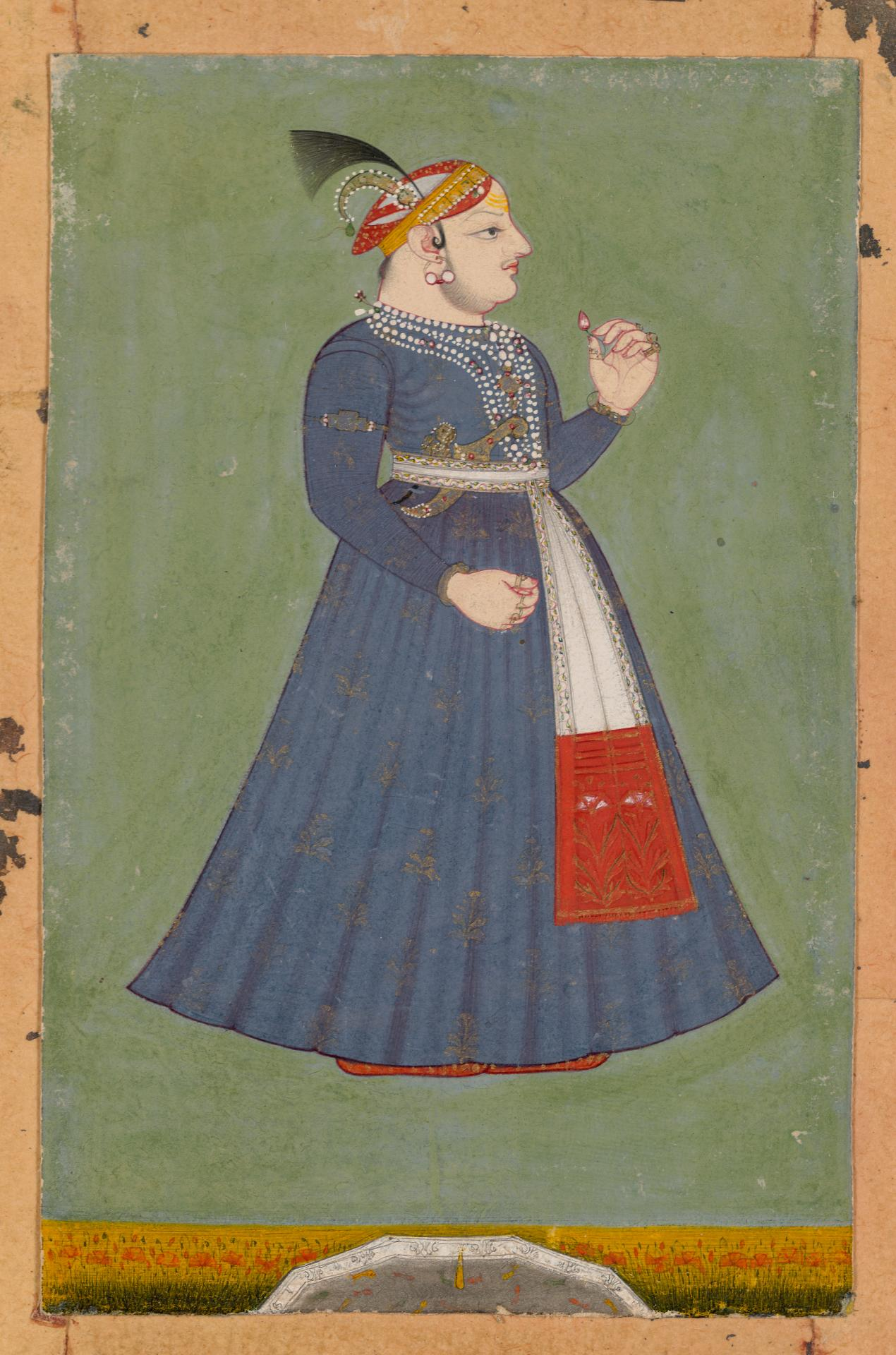 Maharaja Nathji, younger brother of Maharana Jagat Singh II