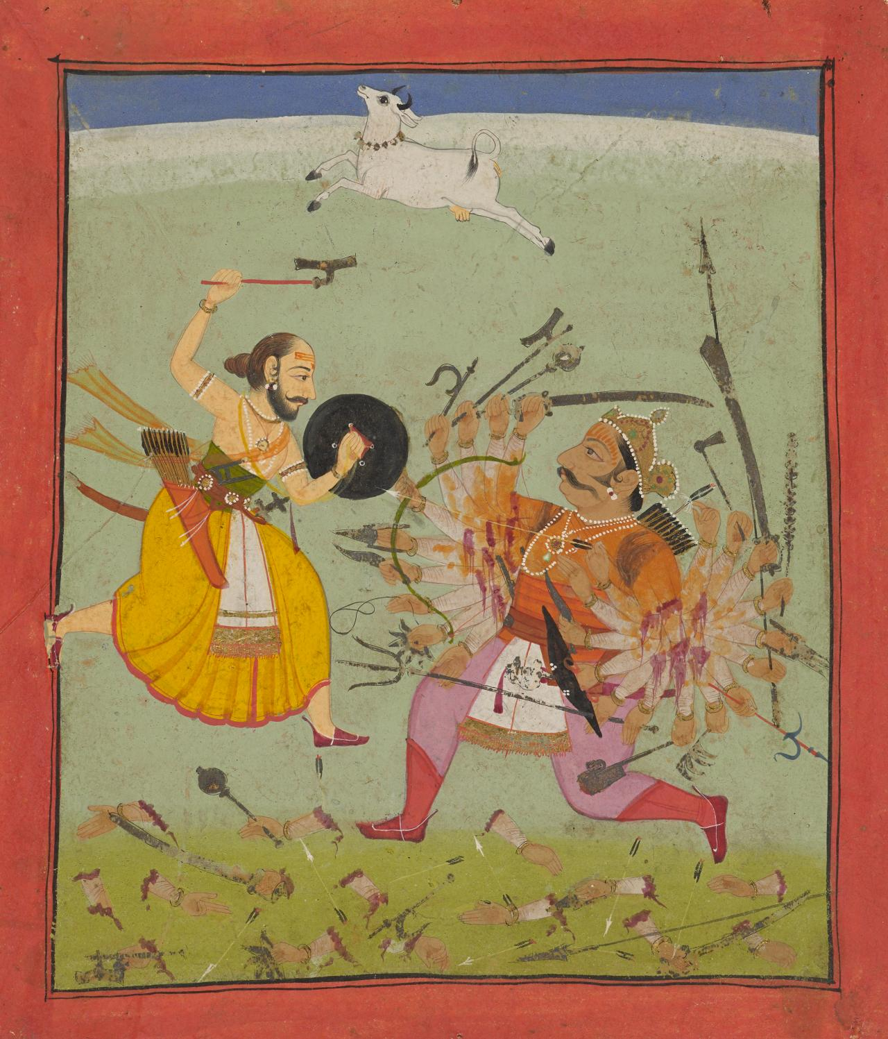 Rama with the battle-axe