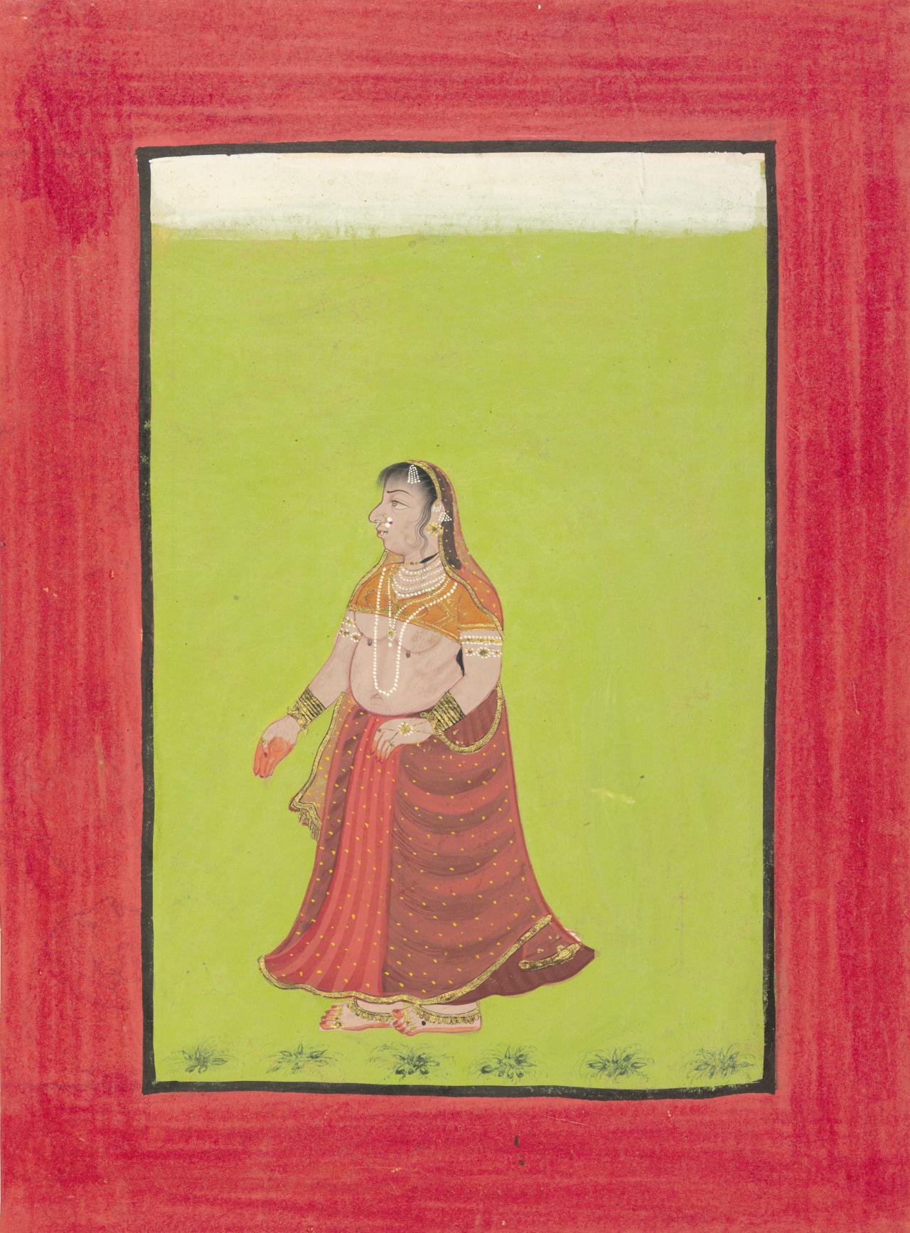 A lady of Sankhini type