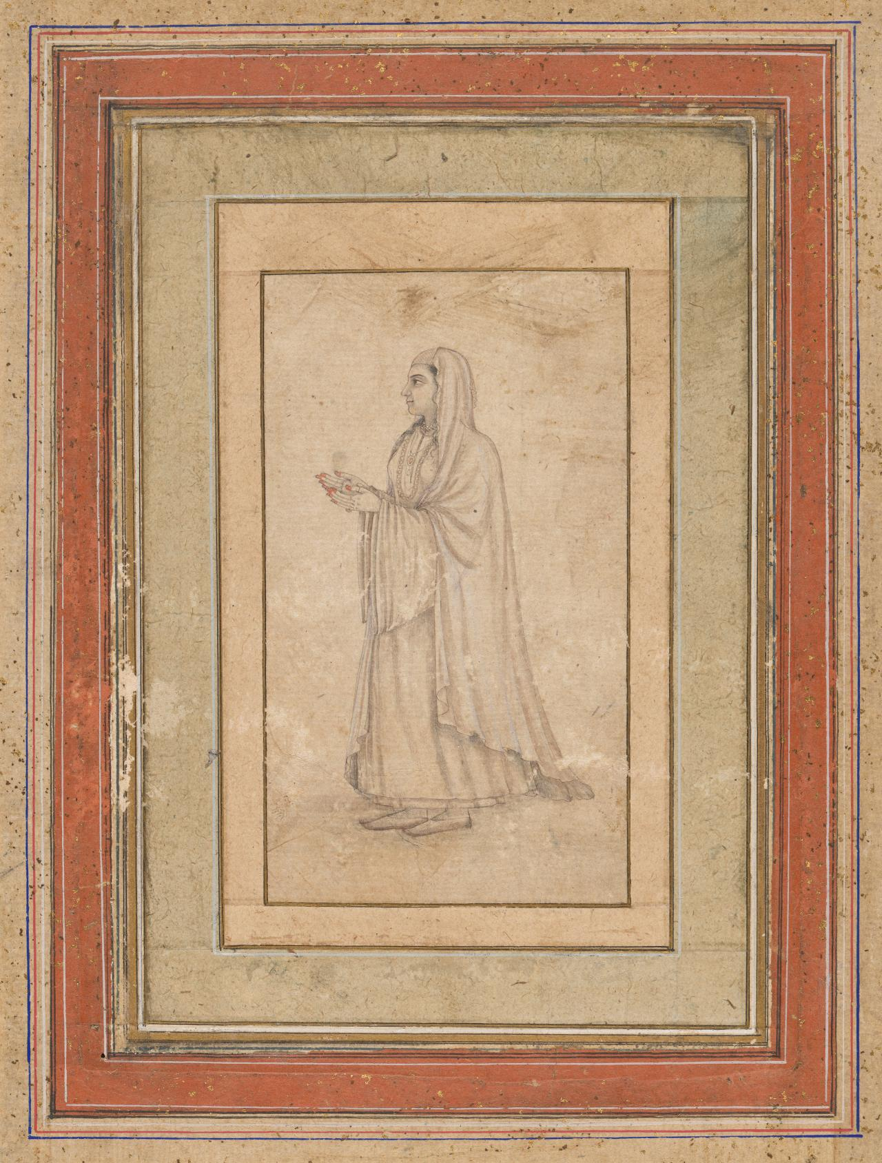 Standing figure of a woman