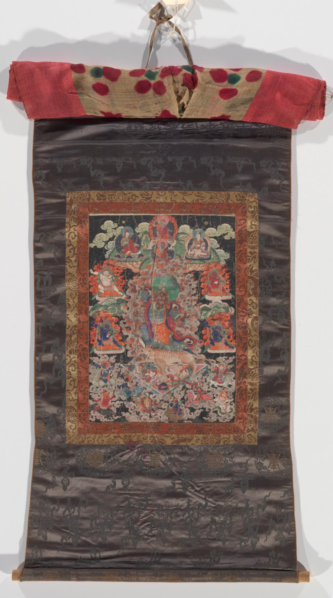 Thangka depicting Derje Trolls