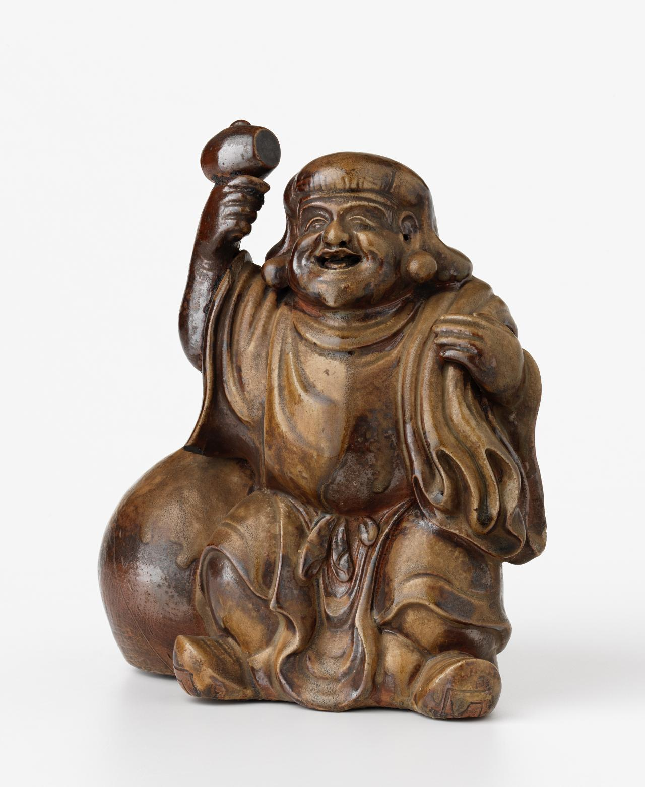 Daikoku, the lucky god of harvest, wealth and prosperity