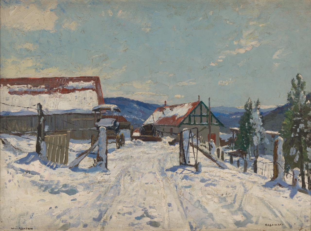 The farm in winter, Koscuisko, N.S.W.