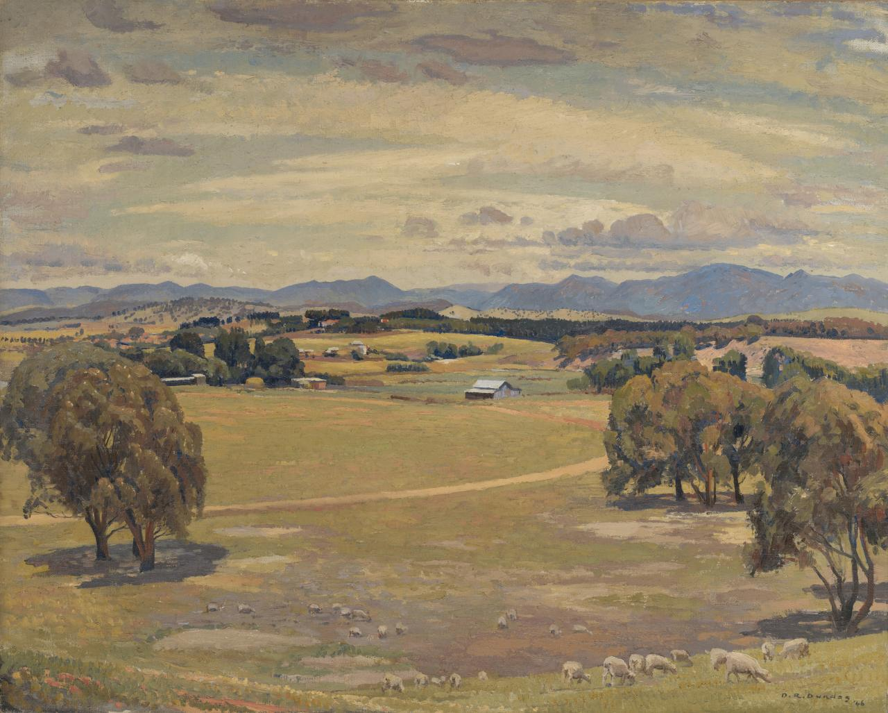 The open valley, Canberra