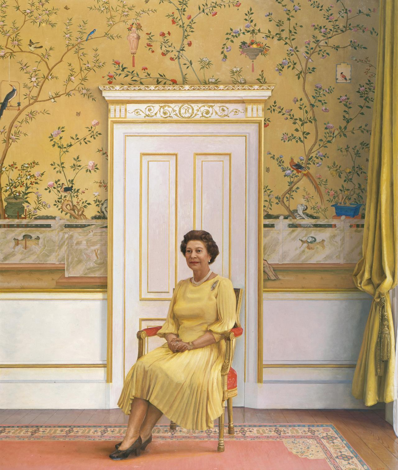Royal portrait of Her Majesty, Queen Elizabeth II