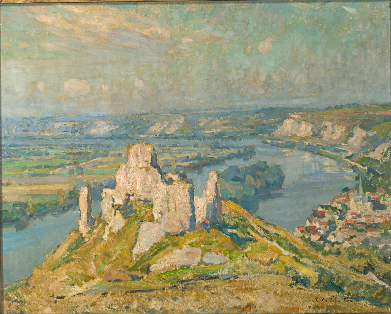 Château Gaillard on the Seine