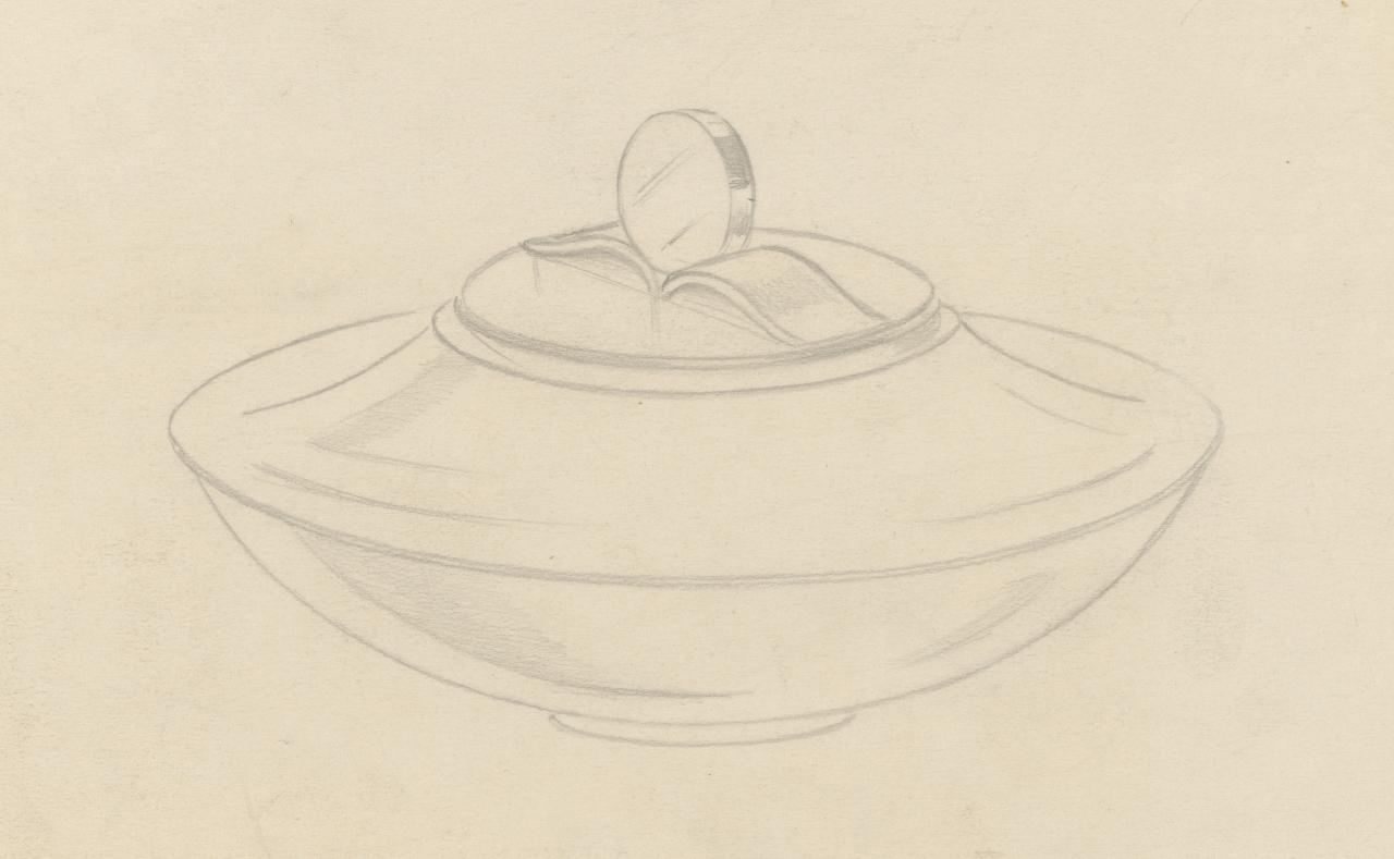 Design for a covered bowl