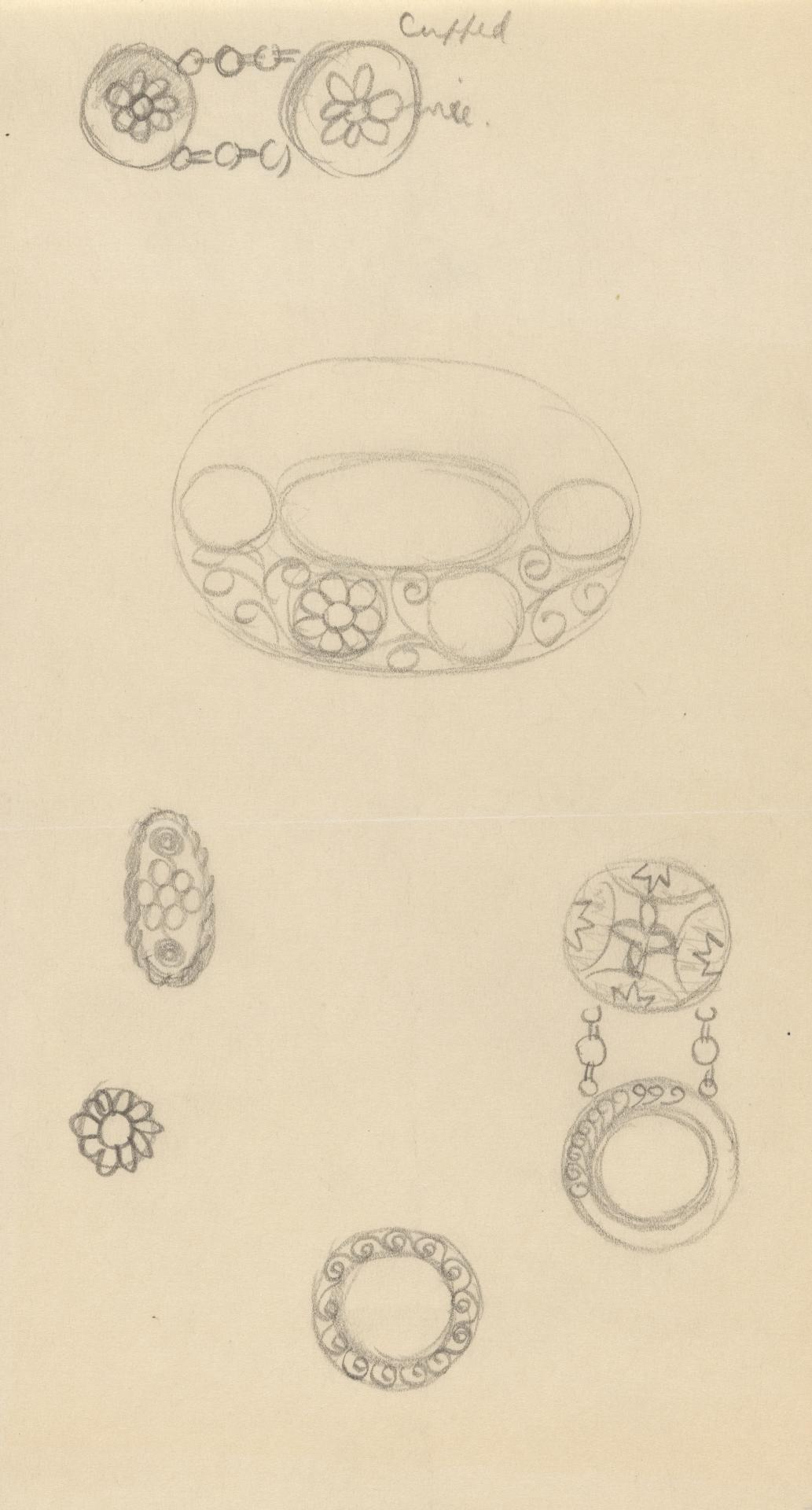 Designs for jewellery