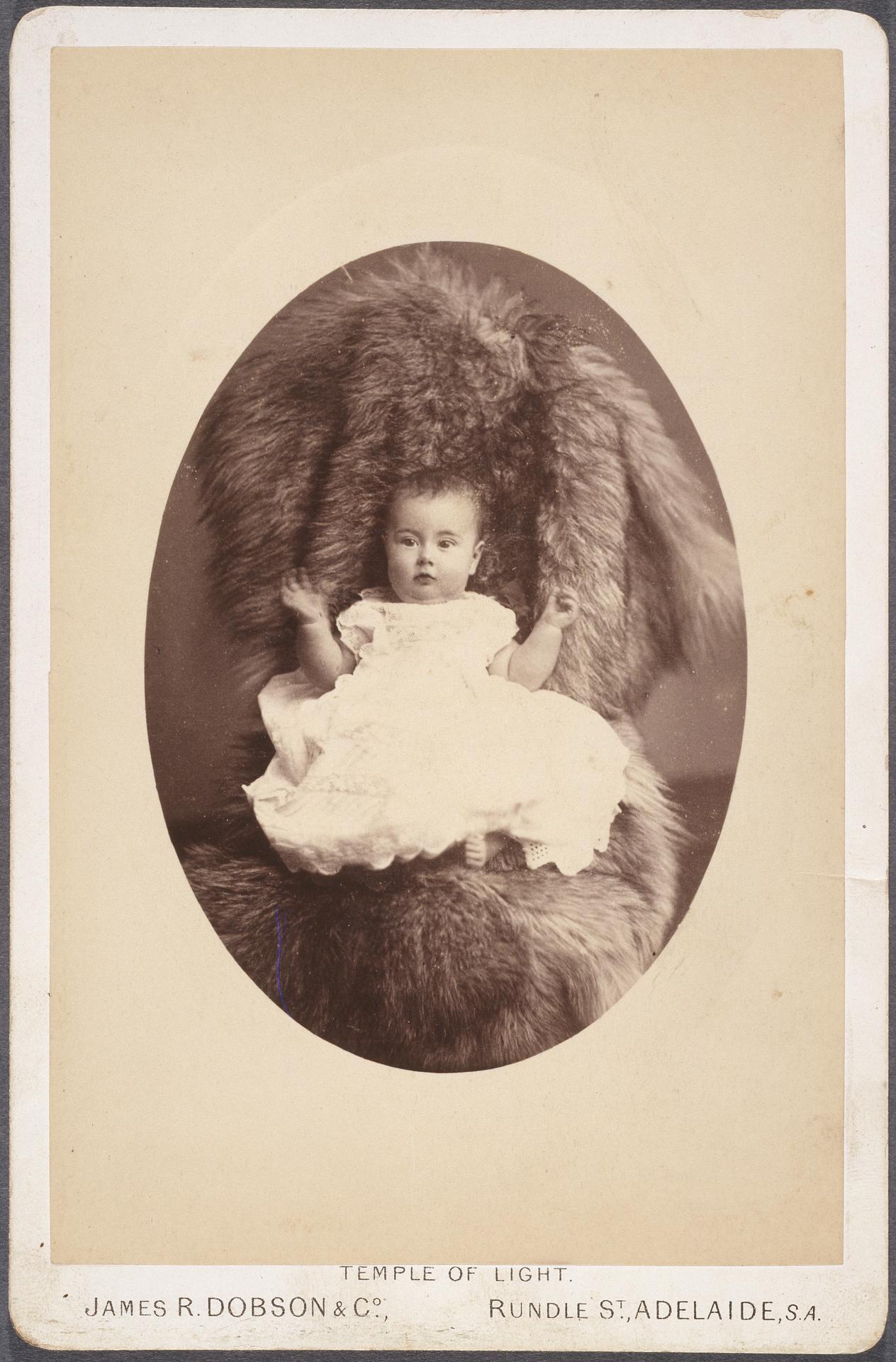 No Title Baby Carte De Visite James R Dobson Co