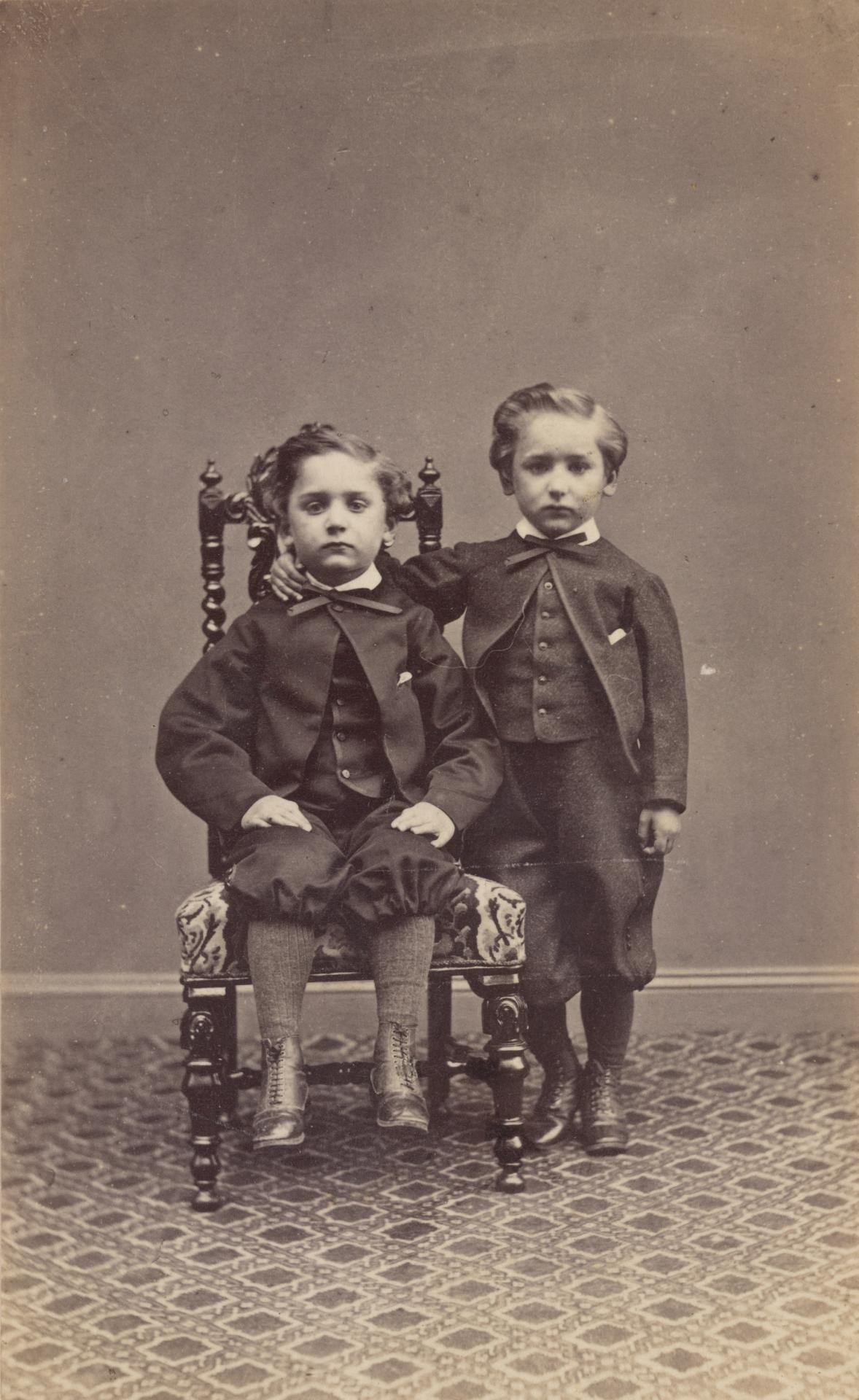 No title (Two young boys)