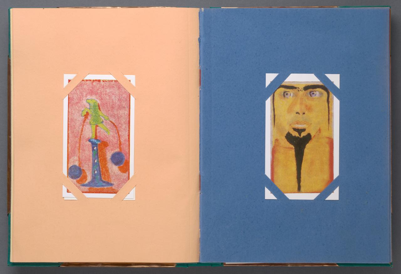 Francesco Clemente: The Pondicherry Pastels 1980