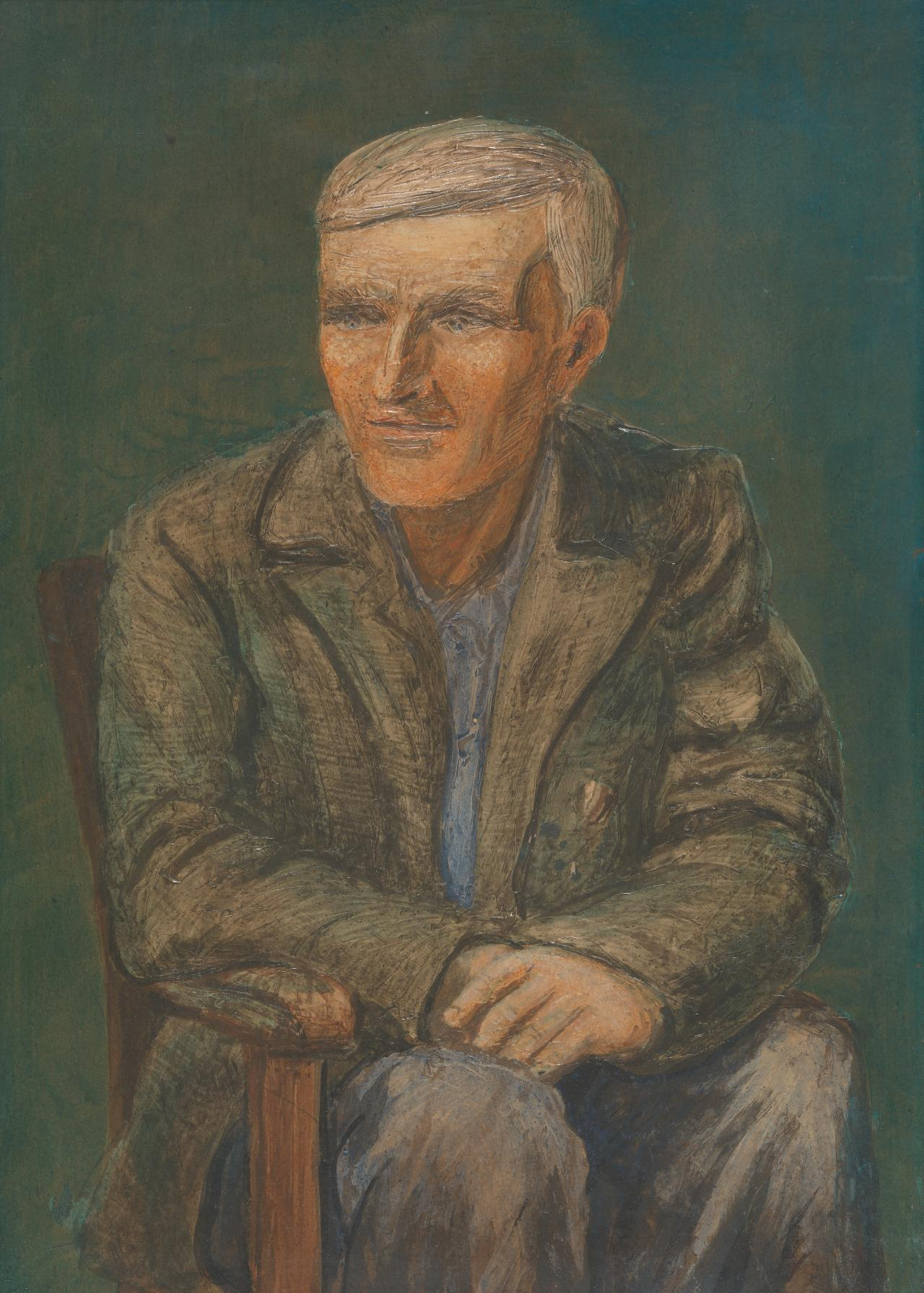 Untitled (Seated man) (No. 17)
