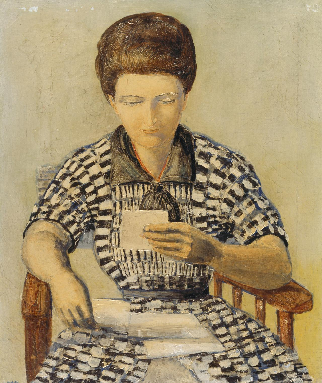 Untitled (Woman reading a letter) (No. 46)