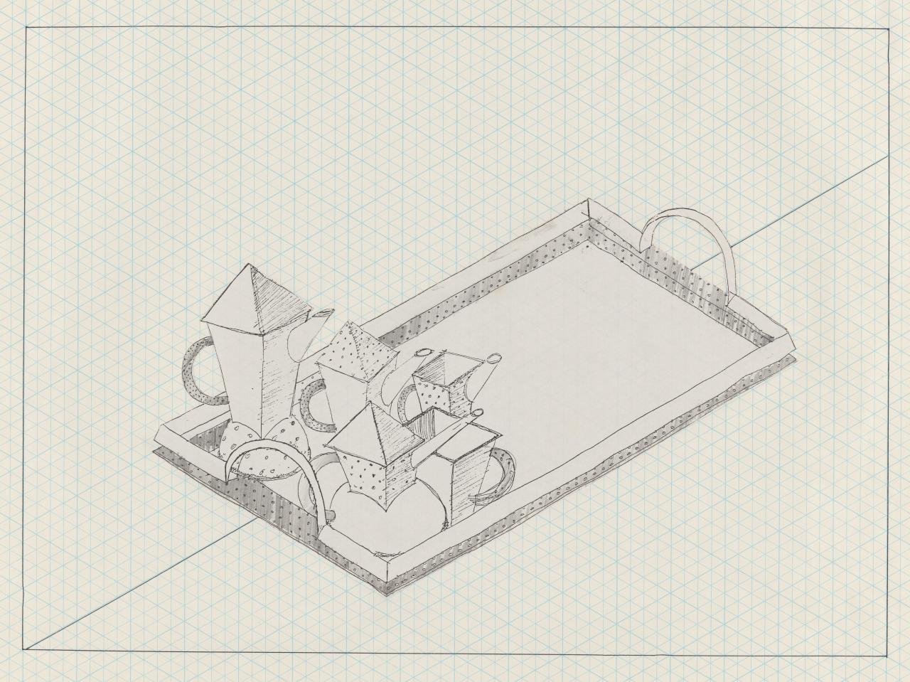 Design for a tea and coffee service