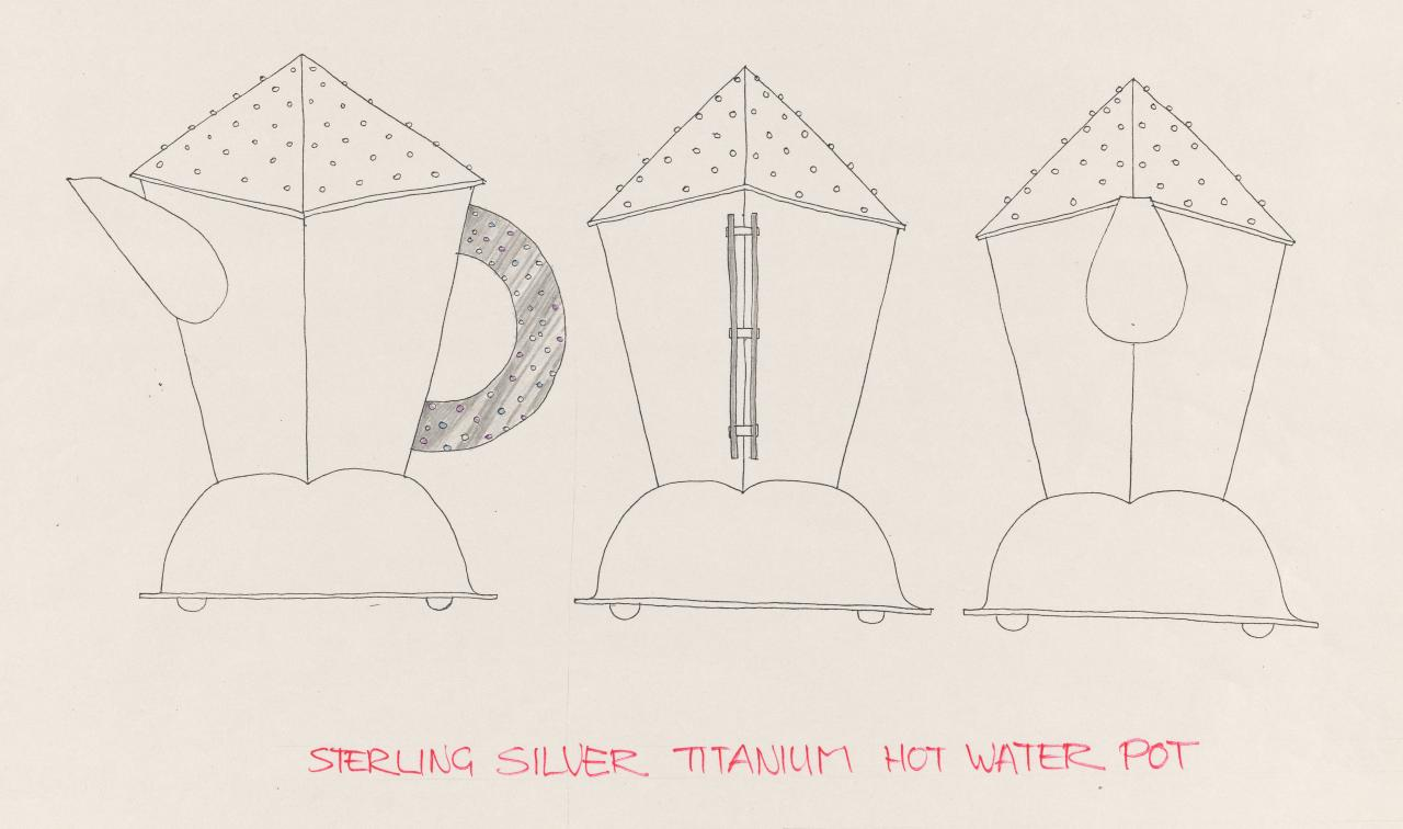 Design for a hot water pot
