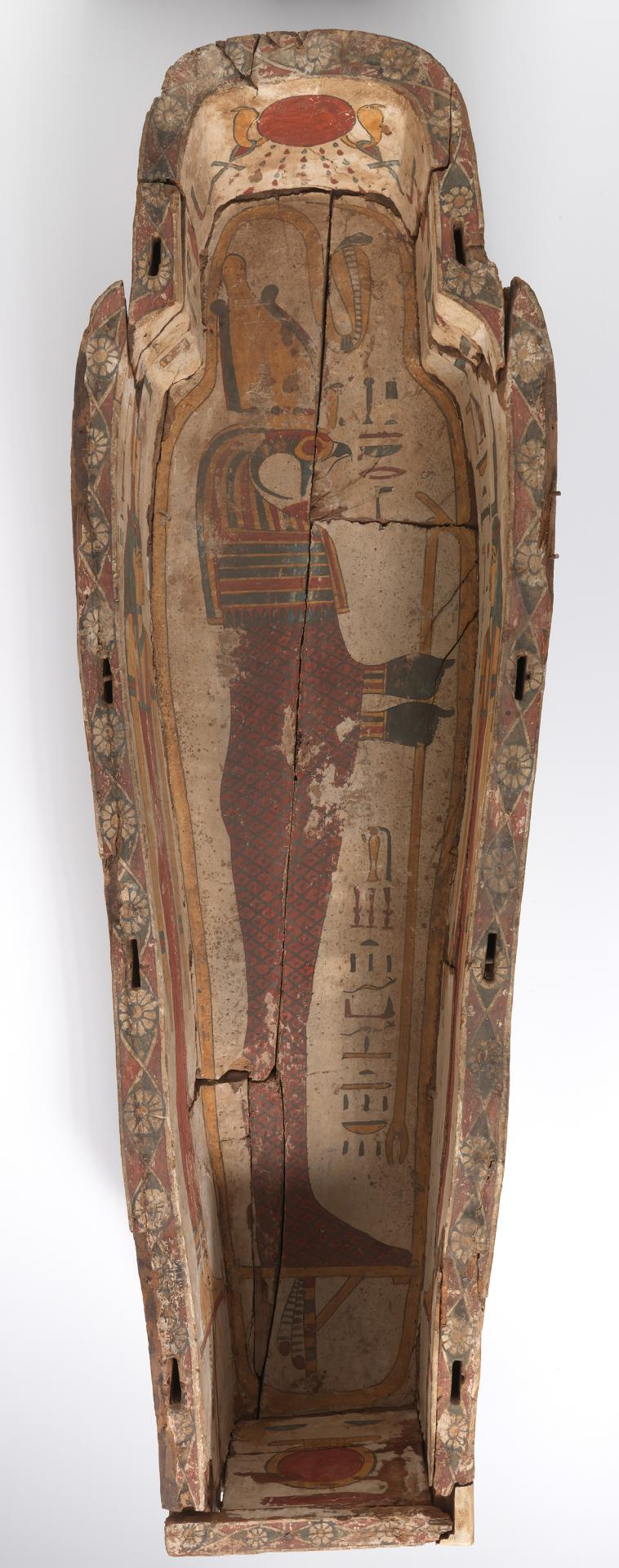 Base from the outer anthropoid coffin of Iret-[en]-Hor-eru