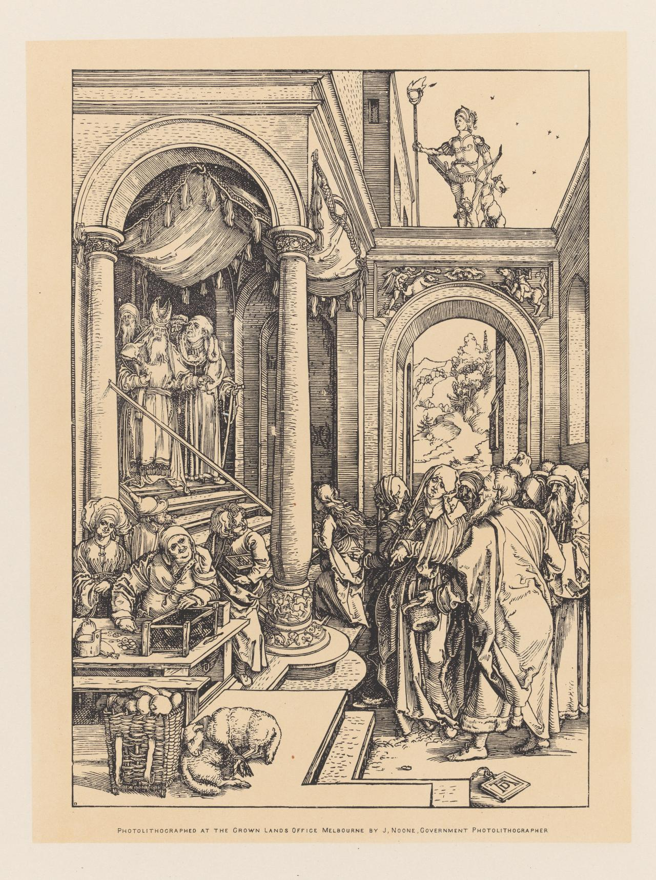 The Presentation of the Virgin in the Temple, from the series The Life of the Virgin Mary