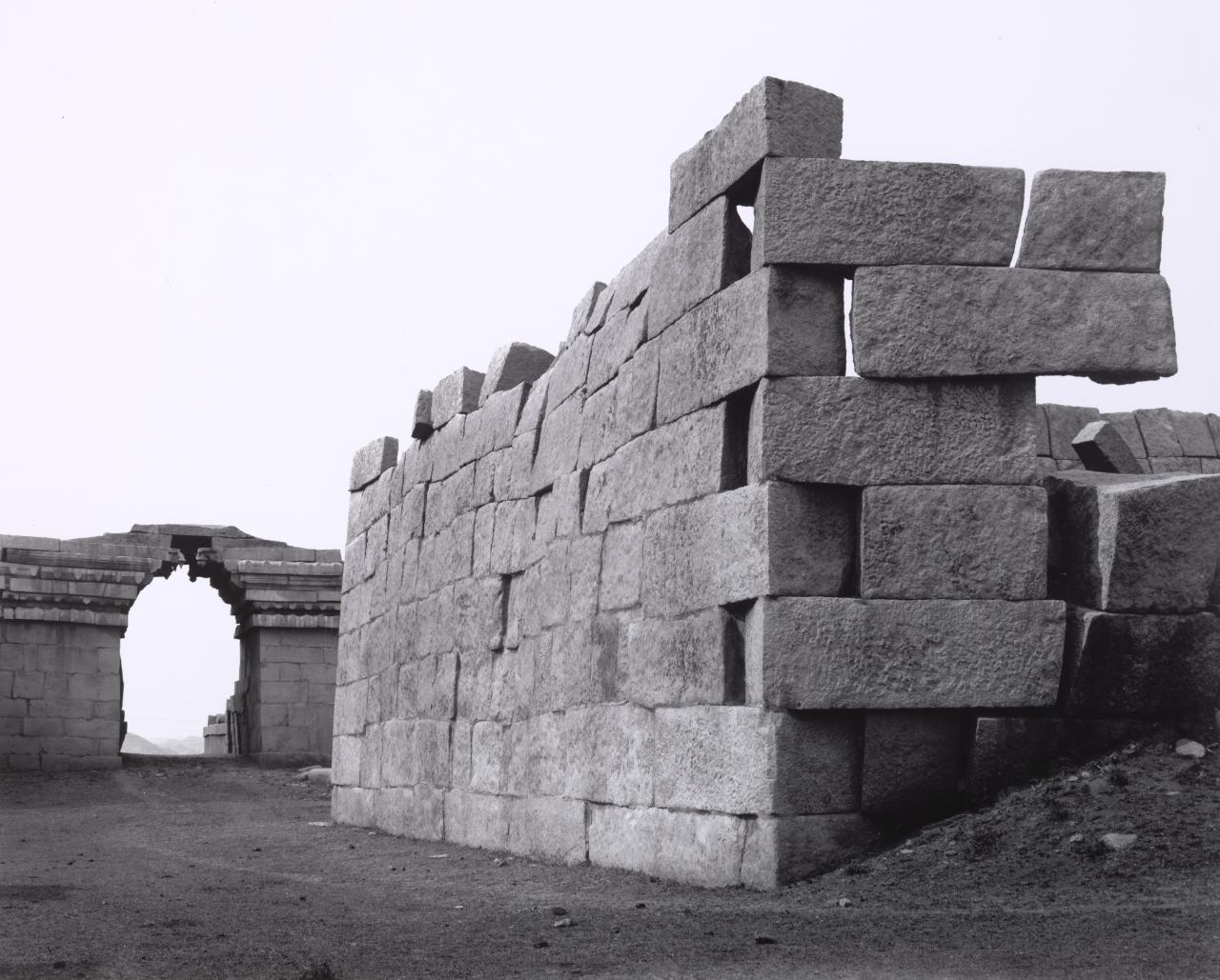 Bhima's gateway with Barbican walls
