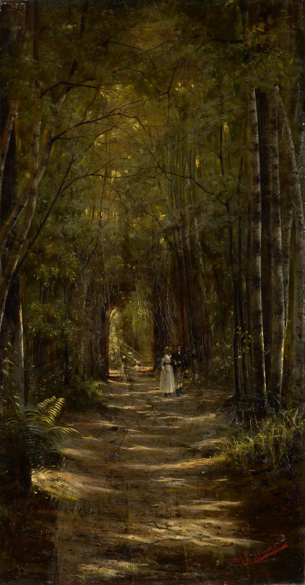 Lovers' walk, Mount Macedon