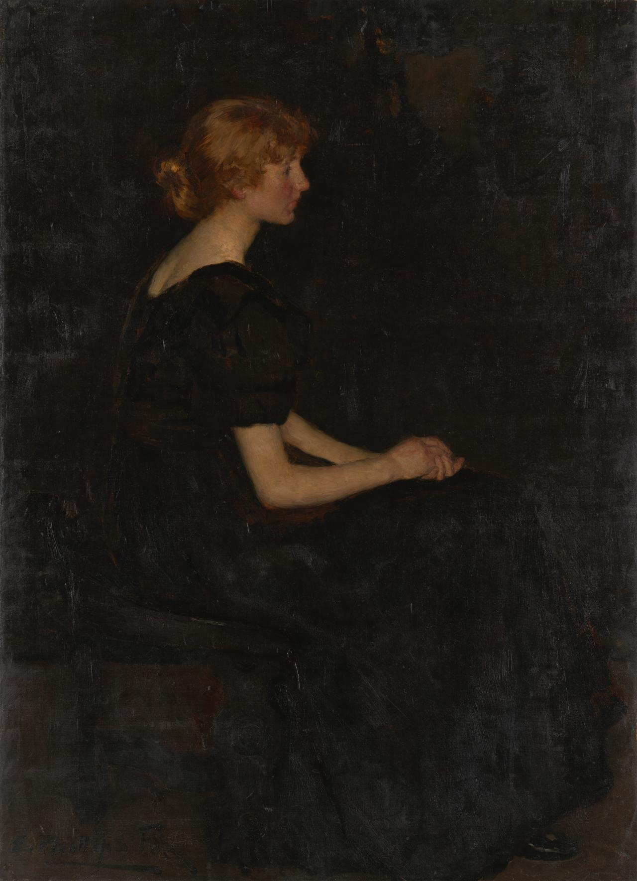 Portrait of Mary, daughter of Professor Nanson