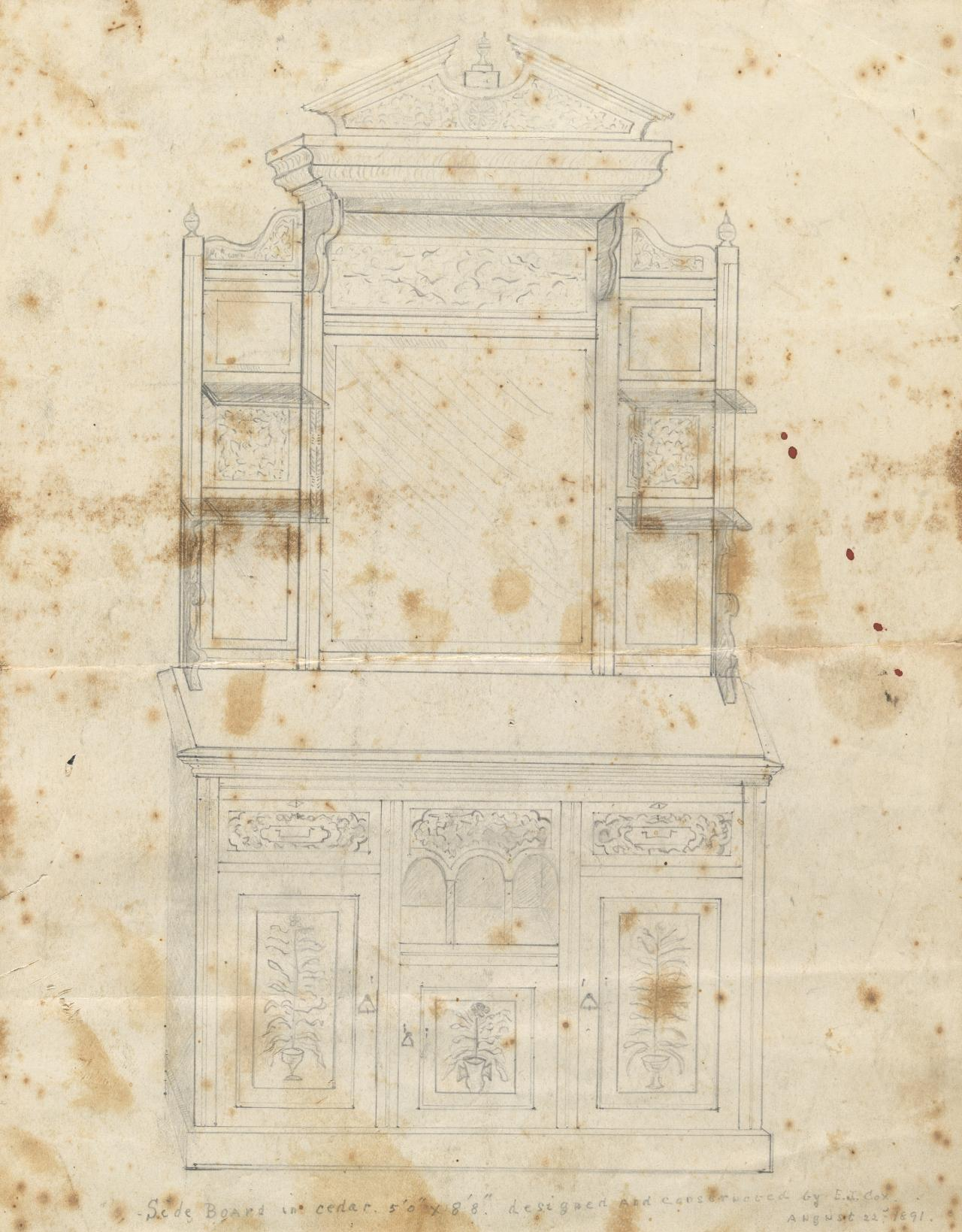 Design for a sideboard