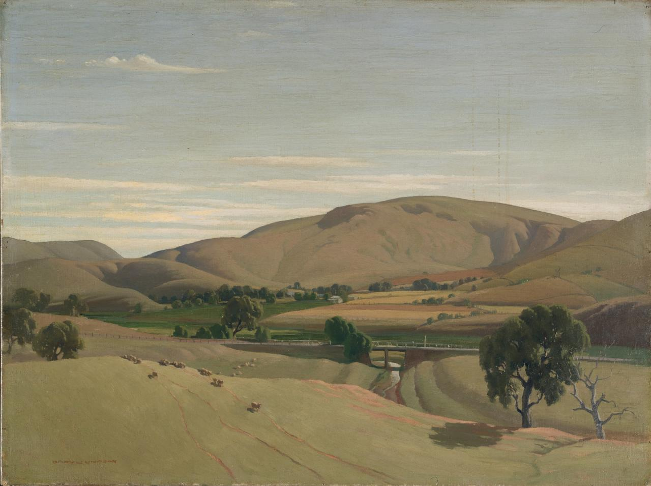 Landscape at Bacchus Marsh