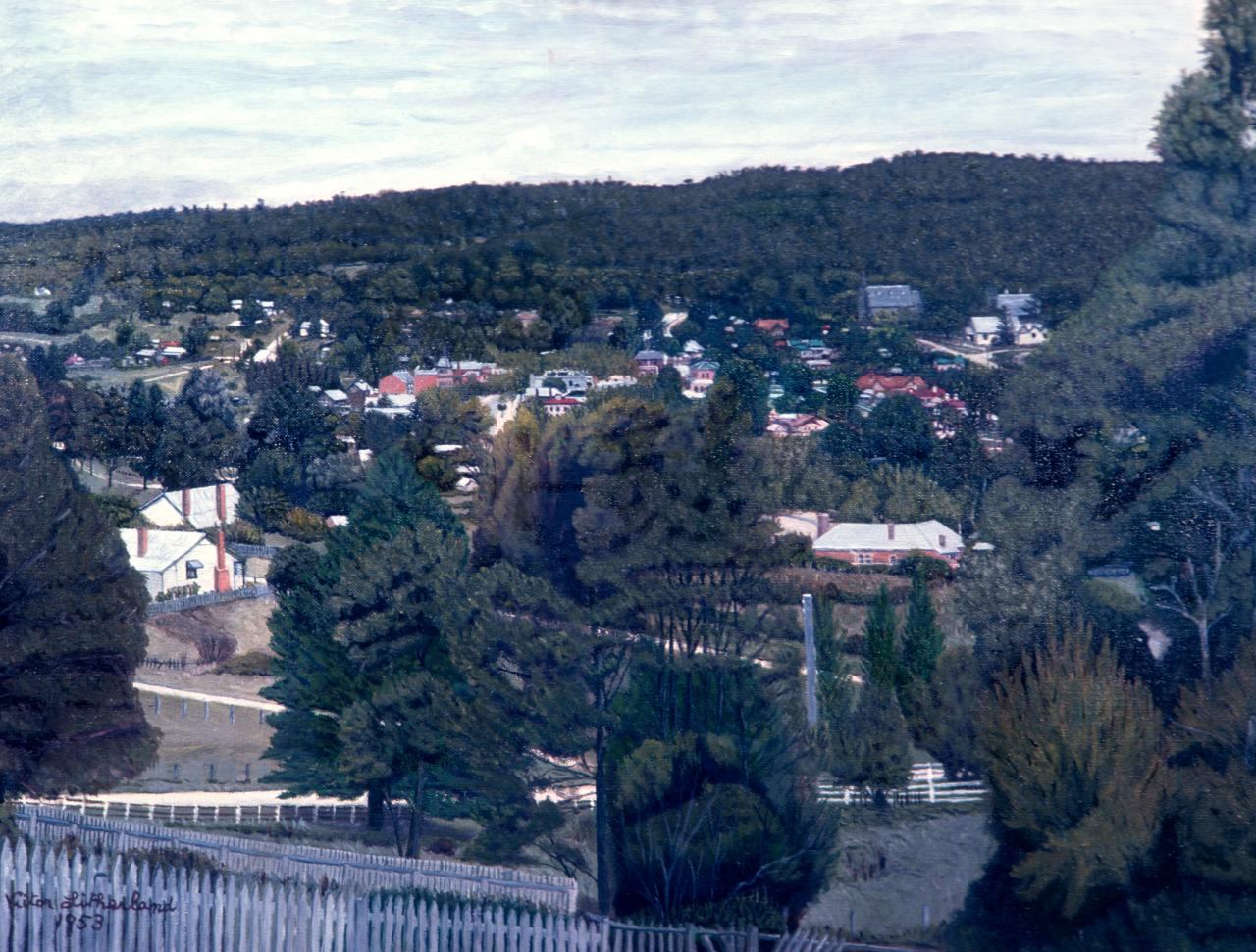 View of Creswick from Camp Hill