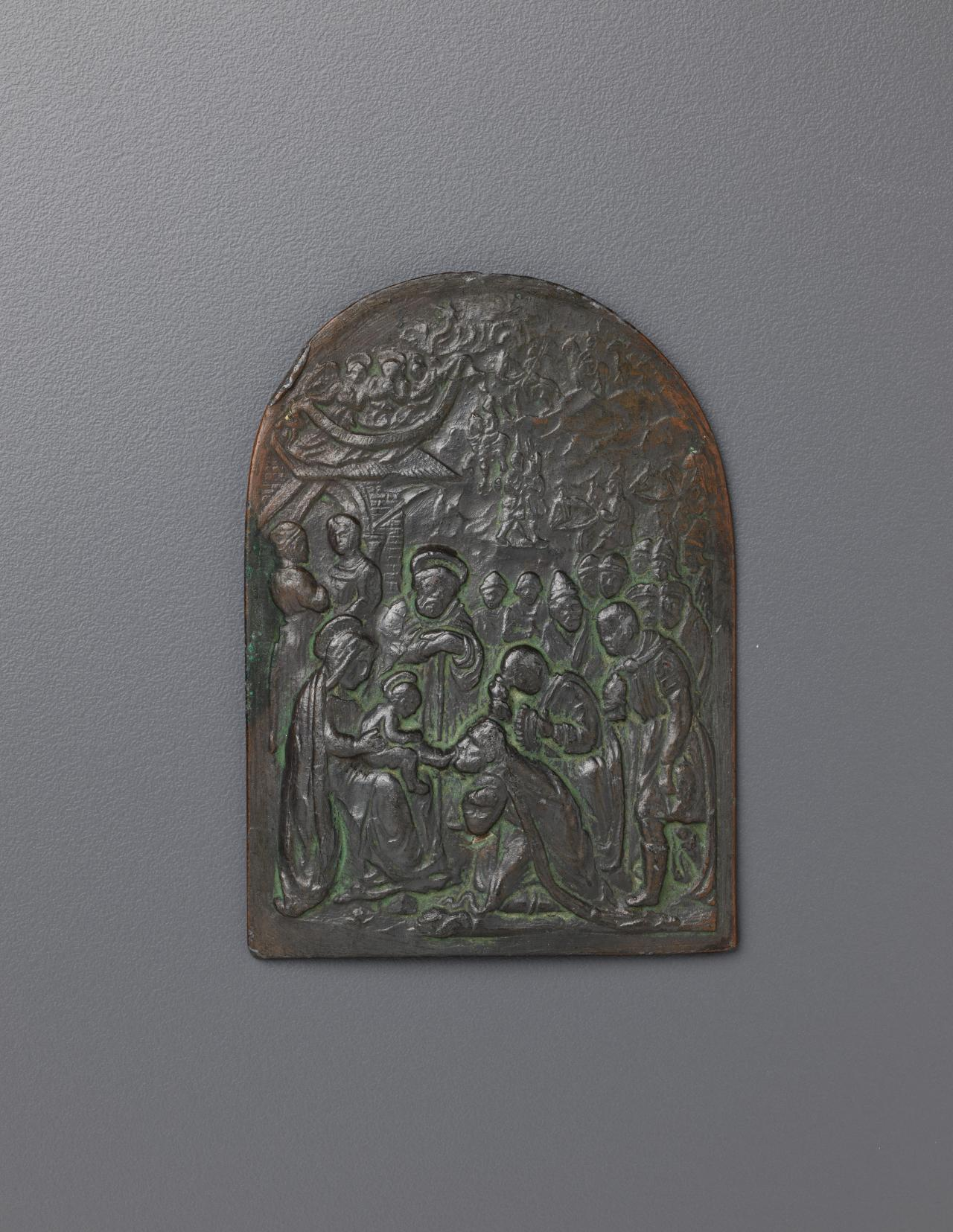 Adoration of the Kings, plaquette