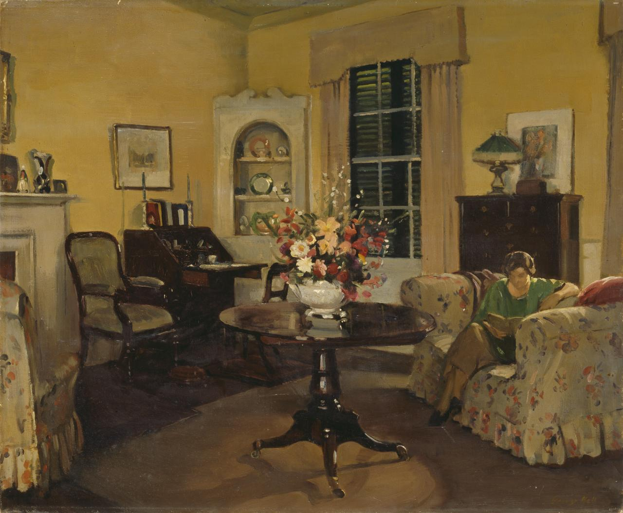 Sitting room, Mulberry Hill