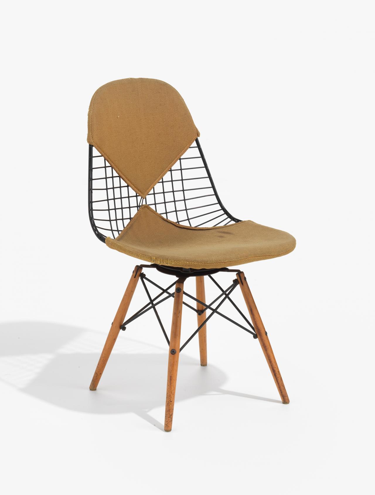 Wire Mesh Chair Charles Eames Designer Ray Eames Designer Herman Miller Michigan Manufacturer Ngv View Work